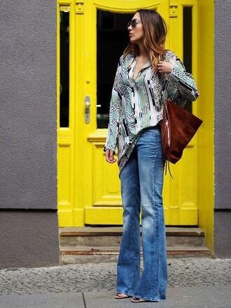 nina @ www.helloshopping.de - it's a blog. blogger bag jeans