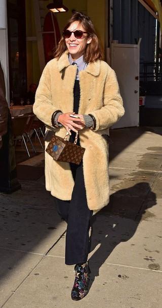 alexa chung boots coat