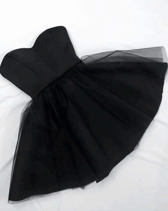 dress glamurous cute black dress prom dress prom black tulle dress short short dress sweethart neckline fluffy tutu dress cute dress classy classy dress special occasion special occasion dress tulle skirt girl strapless love sexy dress hot sexy party dress chiffon chiffon dress skater dress bustier bustier dress little black dress strapless dress