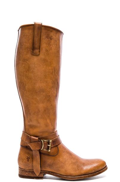 Frye boot tan