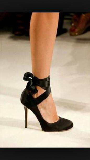 shoes ballet pumps heels black shoes