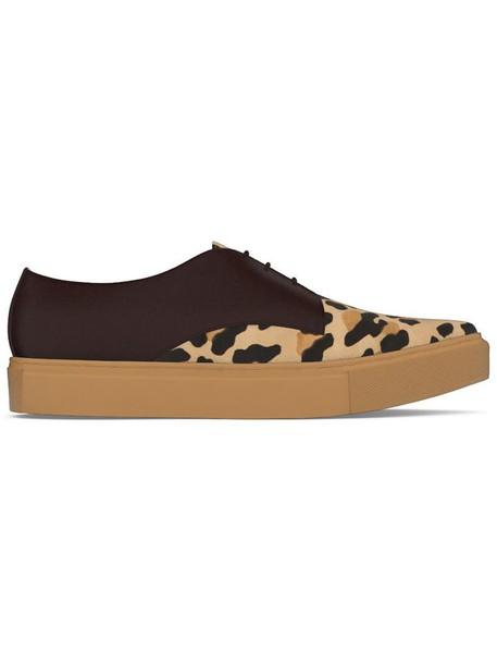 Myswear hair women sneakers leather shoes