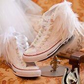 shoes,intellexual design,rhinestones,rhinestone converse,converse,custom converse,bride converse,wedding converse,wedding accessories,wedding shoes,bride
