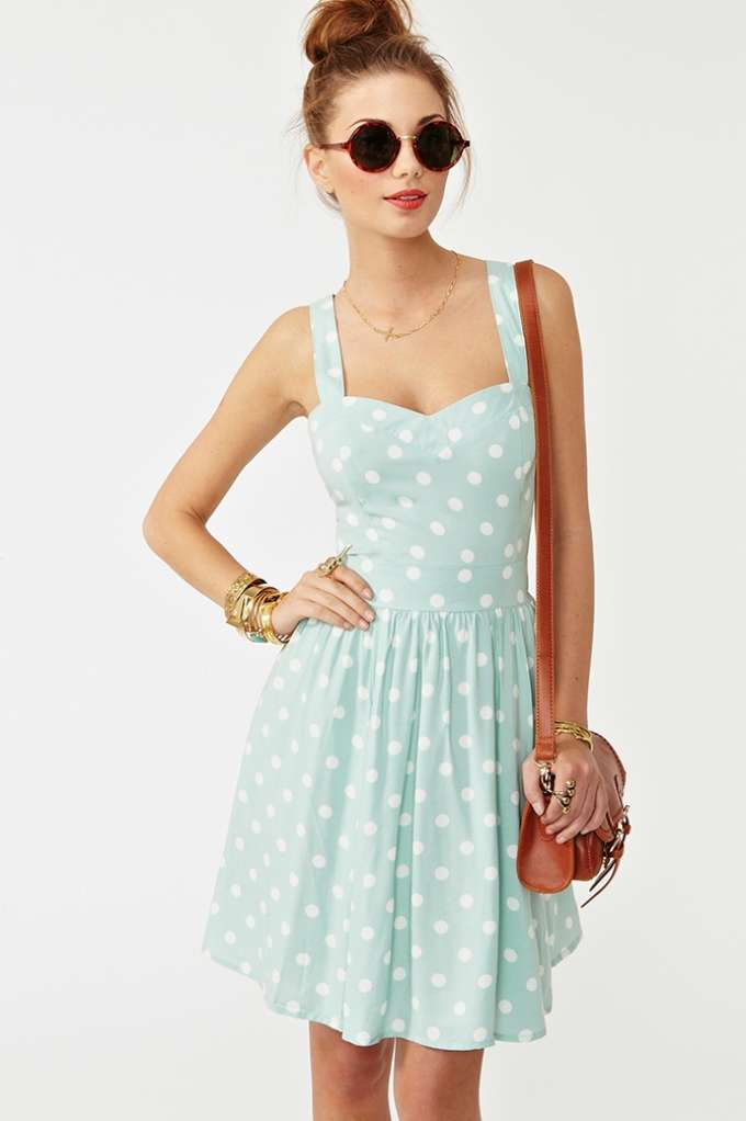 Peppermint Pattie Dress in  Clothes Dresses at Nasty Gal