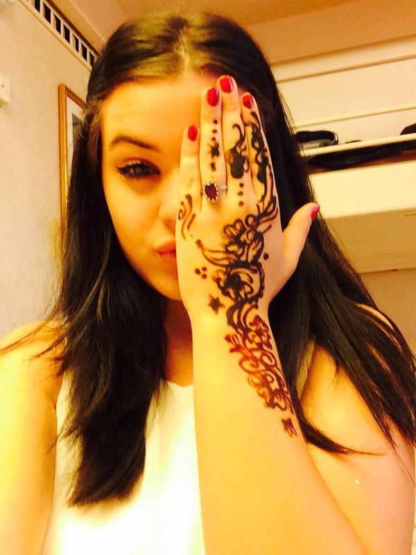 make-up henna
