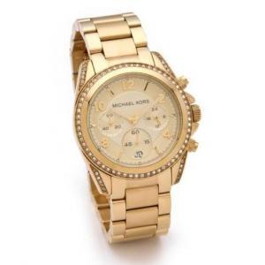 Michael Kors Gold Blair Watch - Sale