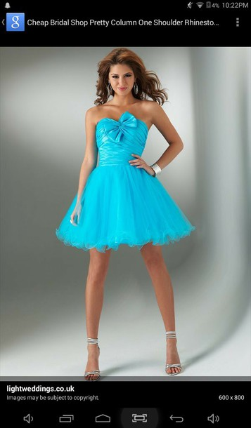 dress blue dress prom dress bright stunning prom dress