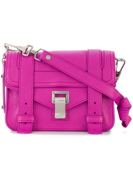 Proenza Schouler mini women bag crossbody bag purple pink