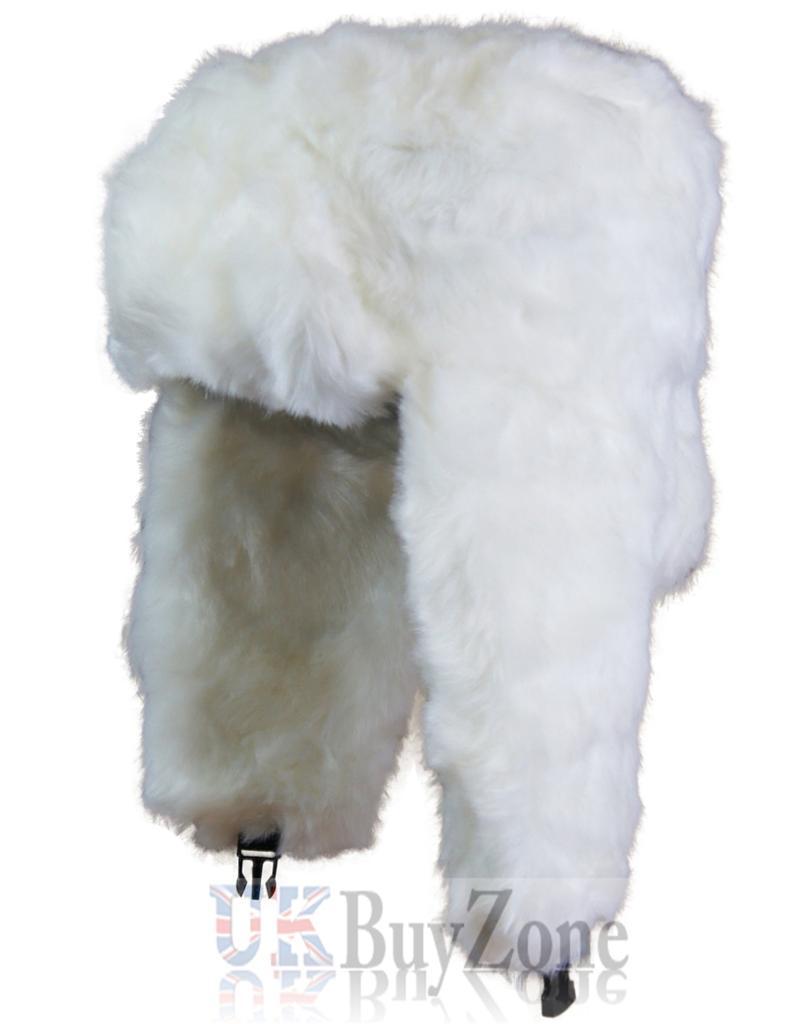NEW Russian Trapper Cossack Ushanka Faux Fur Winter Ski Hat Ladies Mens Unisex | eBay