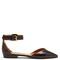 Lya stud-embellished point-toe leather flats