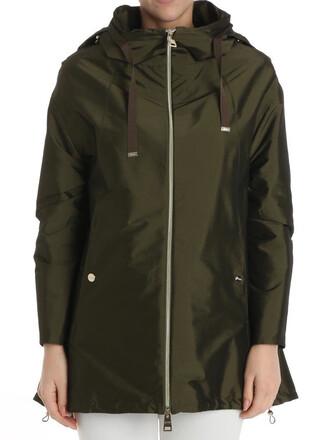 overcoat green coat
