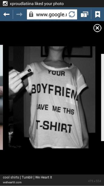 shirt boyfriend tshirt