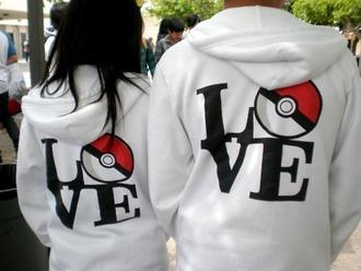 jacket pokemon love sweatshirt sweater