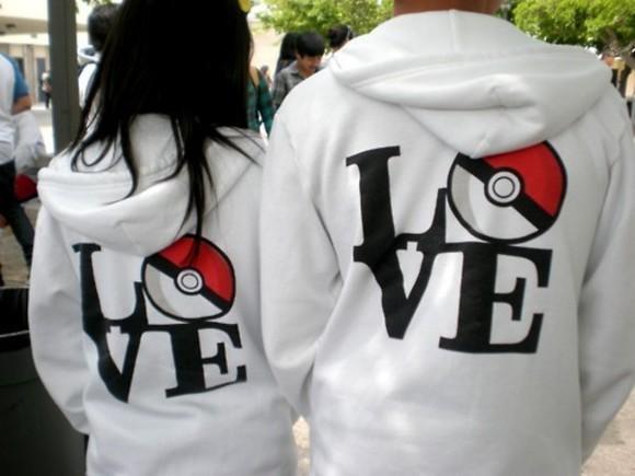 jacket pokemon love sweater