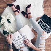 shoes,tumblr,velvet,velvet shoes,velvet sandals,high heels,sandal heels,denim,jeans,light blue jeans