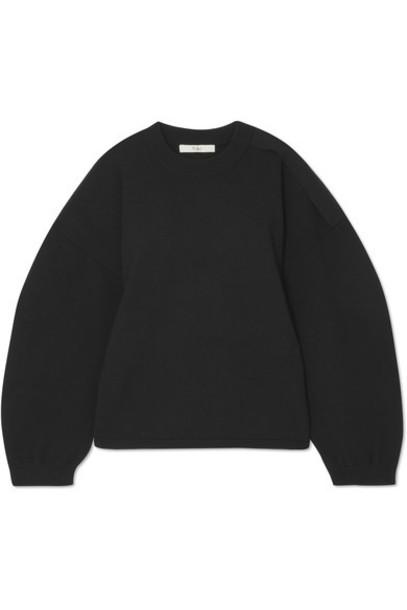 Tibi sweater black wool