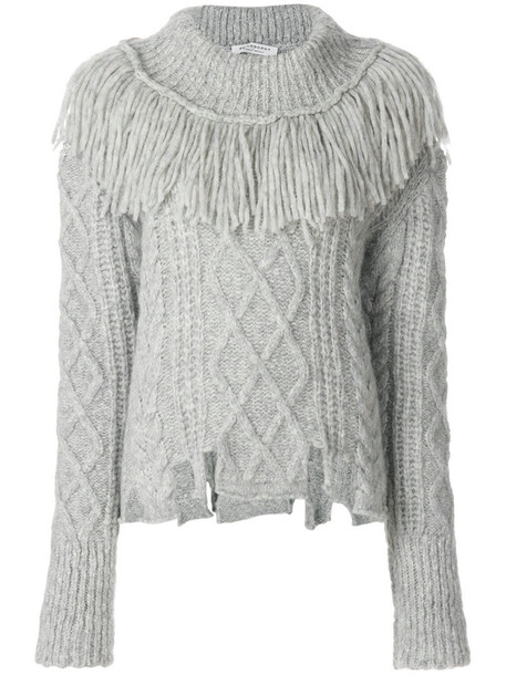 Philosophy di Lorenzo Serafini jumper women wool grey sweater