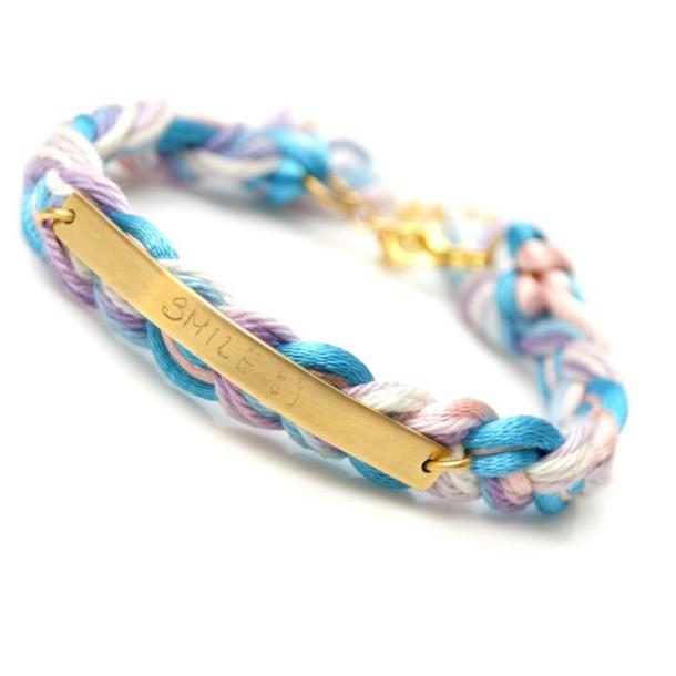 jewels bracelets bracelets jewelry friendship pastel gold