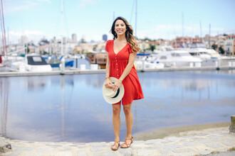 fashionborn blogger dress jacket hat shoes
