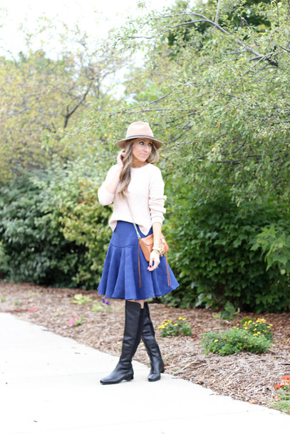 lilly's style blogger skirt shoes bag jewels