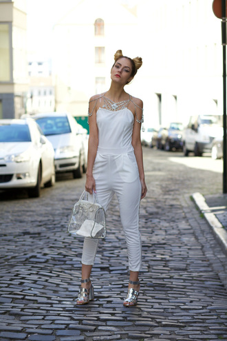 from brussels with love blogger jumpsuit shoes bag