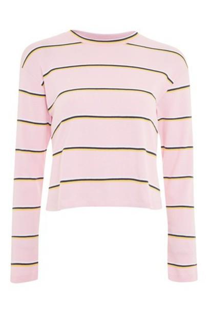 Topshop top long pink