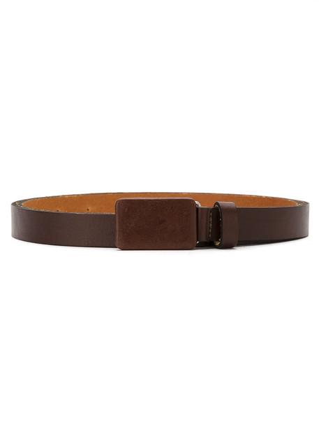 EGREY women belt leather brown