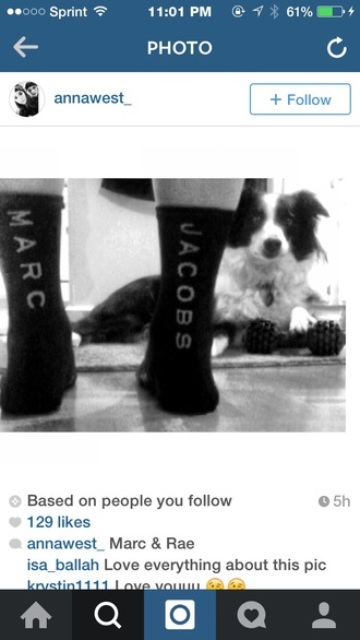 socks marc jacobs
