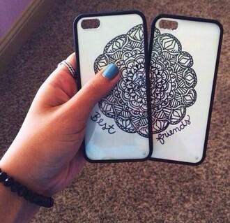 phone cover bff iphone case mandala mandala cover iphone iphone cover