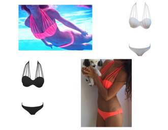 swimwear bikini bikini top bikini's halter bikini white bikini black red bikini strappy bikini beach beach bunny beach bikini sexy bikini swimwear two piece swimwear usa swim wear top shopping ineedthese iwantthissobad cute colorful color bikini bottom push up bikini push up swimwear push up push up pink bikini push up bandeau pushup bikini top two-piece rawglitter underwear coral perfect