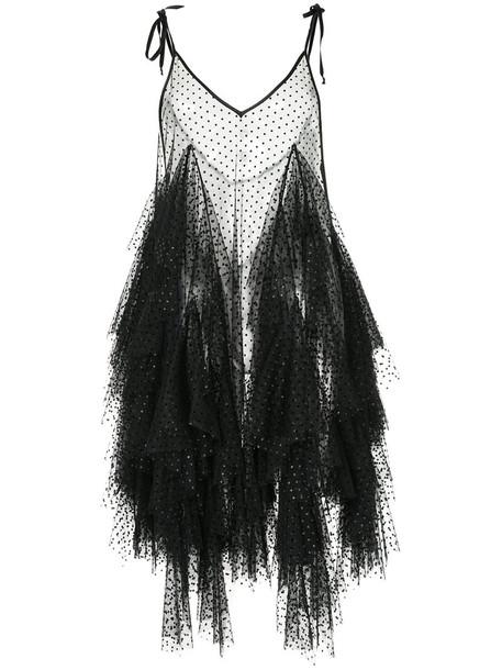 Romance Was Born dress ruffle dress ruffle women fantasy black