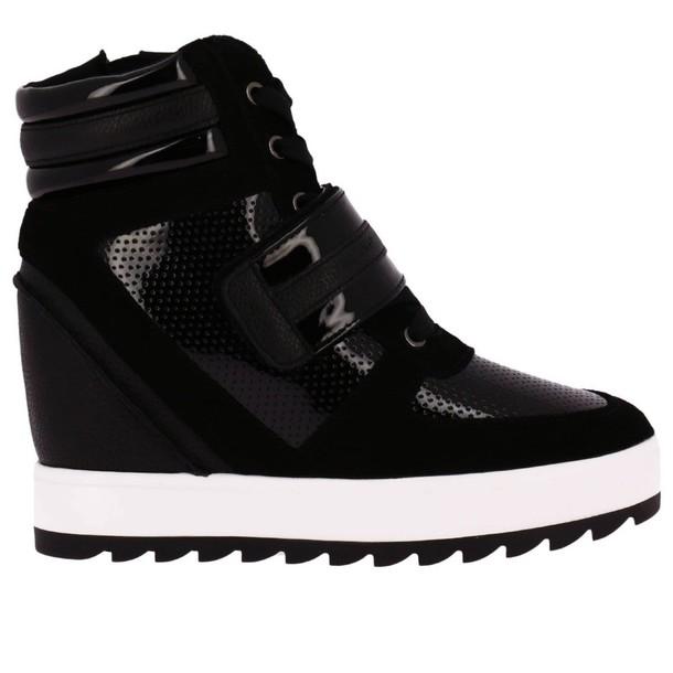 ARMANI JEANS sneakers. women sneakers black shoes