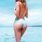 Revel rey tequila sunrise bikini bottom - amarillo