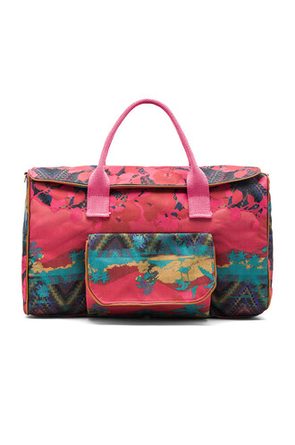 bag travel bag pink