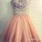 Amazing sweetheart rhinestone prom dresses,homecoming dresses - 24prom