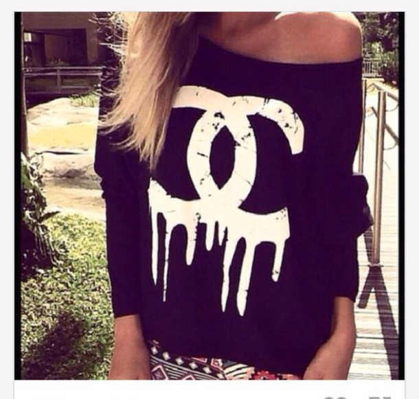 top off the shoulder chanel