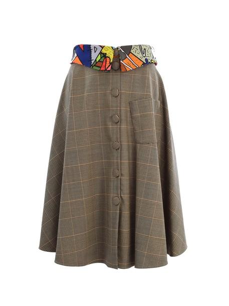 skirt school skirt beige
