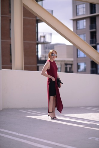 platforms for breakfast blogger dress shoes sunglasses maxi dress maxi slit dress red lime sunday
