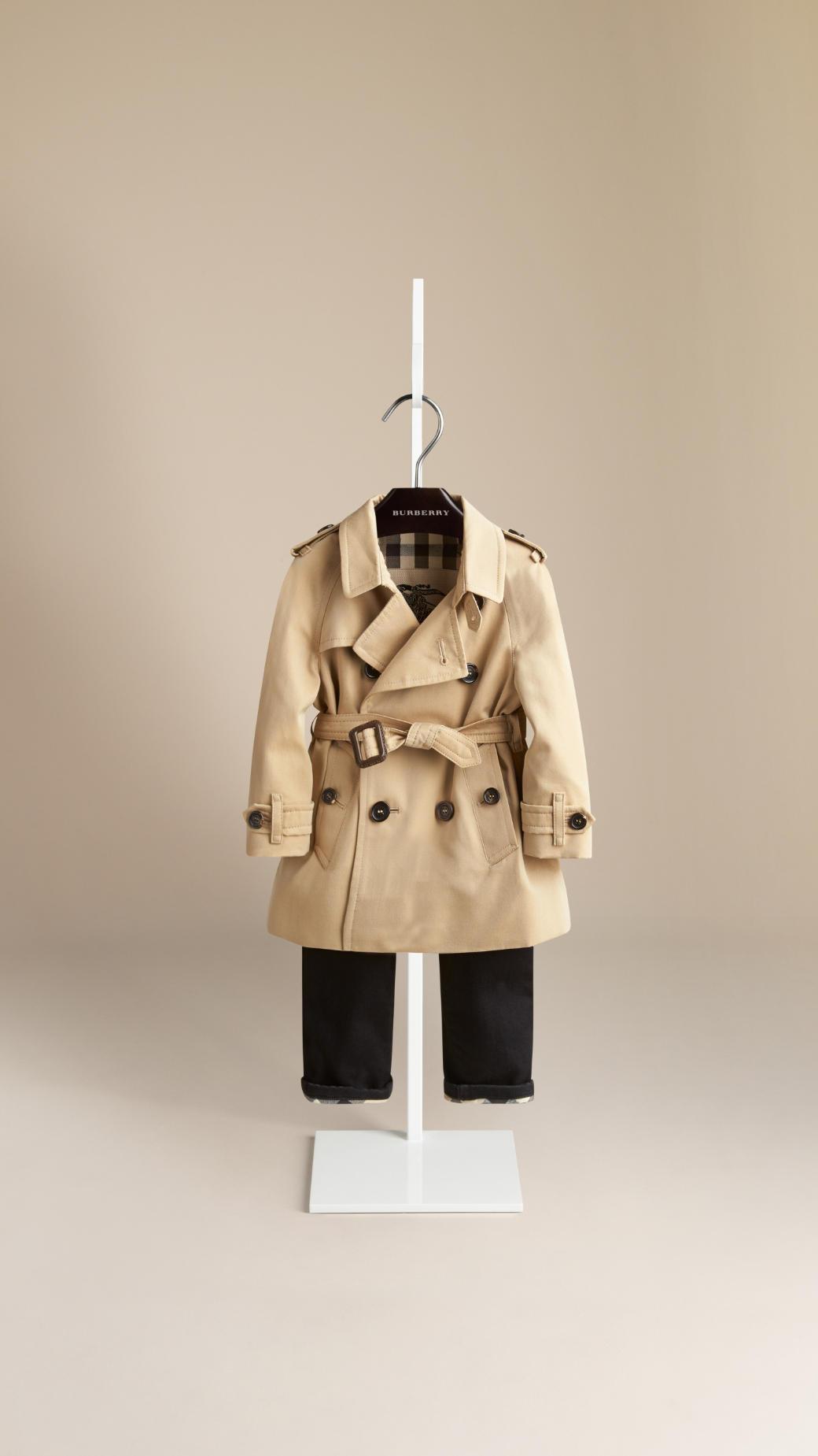 Heritage trench coat