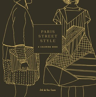 home accessory book black and gold coloring book paris streetstyle