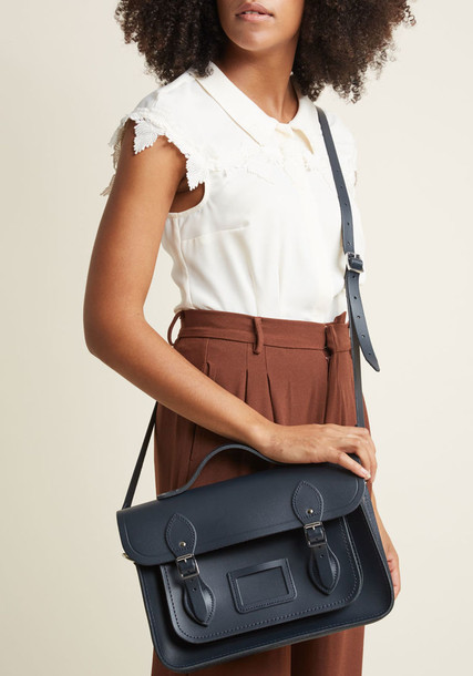 Cambridge Satchel bag navy