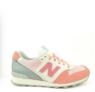 shoes new balance 996 new balance pastel shoe cute running gray pink fashion tumblr hipster kawaii