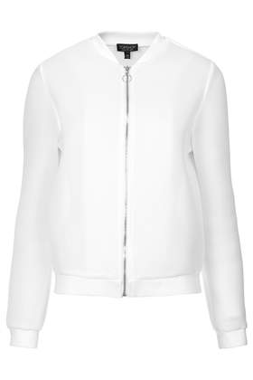 Airtex Bomber Jacket - Jackets & Coats - Clothing - Topshop