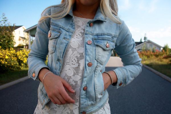 jacket denim vest blue
