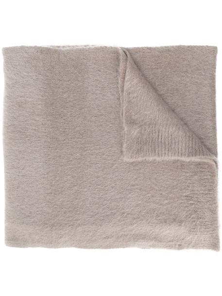Dondup plain scarf - Brown