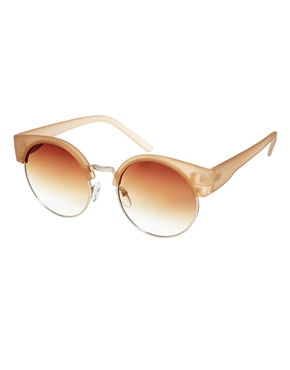 ASOS | ASOS Half Kitten Cat Eye Sunglasses at ASOS