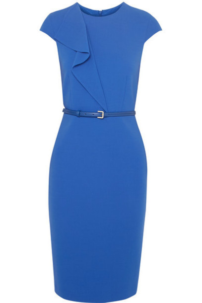 Max Mara dress blue wool royal blue