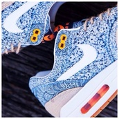 shoes,nike air max 1,light blue,white