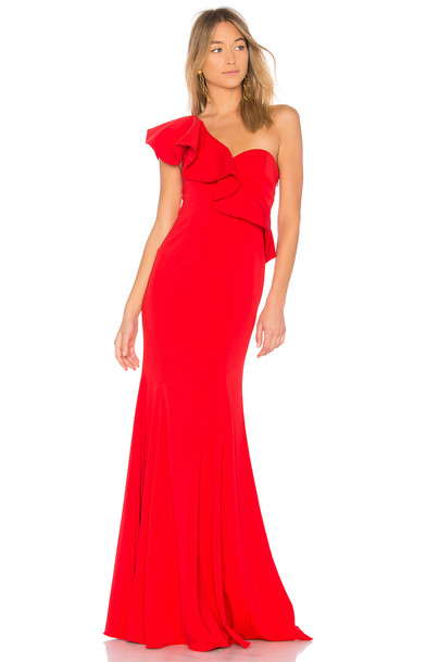 JAY GODFREY gown red dress