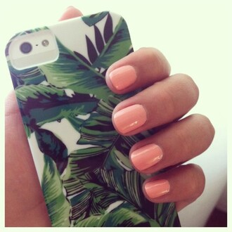 phone cover leafs green iphone case